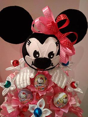 a296faa8c4d5 Букет из конфет ручной работы для девочки Минни Маус: продажа, цена ...
