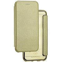 Чехол Book Cover Royal Case Samsung A310 (A3-2016) Gold