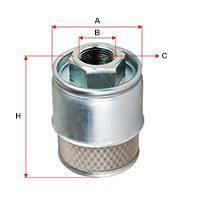 Гидравлический фильтр (всасывающий) для вилочного погрузчика TOYOTA 7FG10/15/20/25/30/J35 c 1998 по 2000 годы