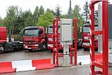 SaphyGATE G система радиационного радиометрического контроля грузовых авто и ж/д, отходов, портальный монитор, фото 7