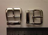 Пряжка для сумки 20 мм никель, фото 2