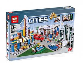 Конструктор Lepin 02022 Ретрогородок (аналог Lego City 10184)