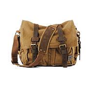 Сумка-мессенджер s.с.cotton | коричневый, фото 1