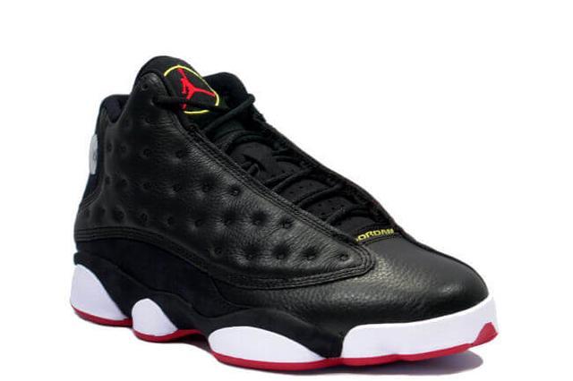 Air Jordan 13 XIII Original OG Black True Red-White