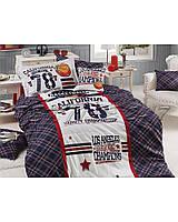 Комплект постельного белья First Choice Ranforce Deluxe 3D подростковый полуторный арт.All Star