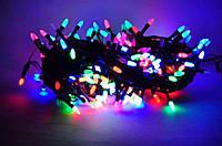Гирлянда светодиодная 100 LED КОНУС-РИС мульти, фото 1
