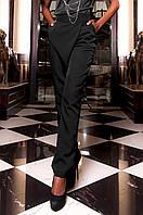 Черные женские брюки Пармил Jadone Fashion 42-48 размеры