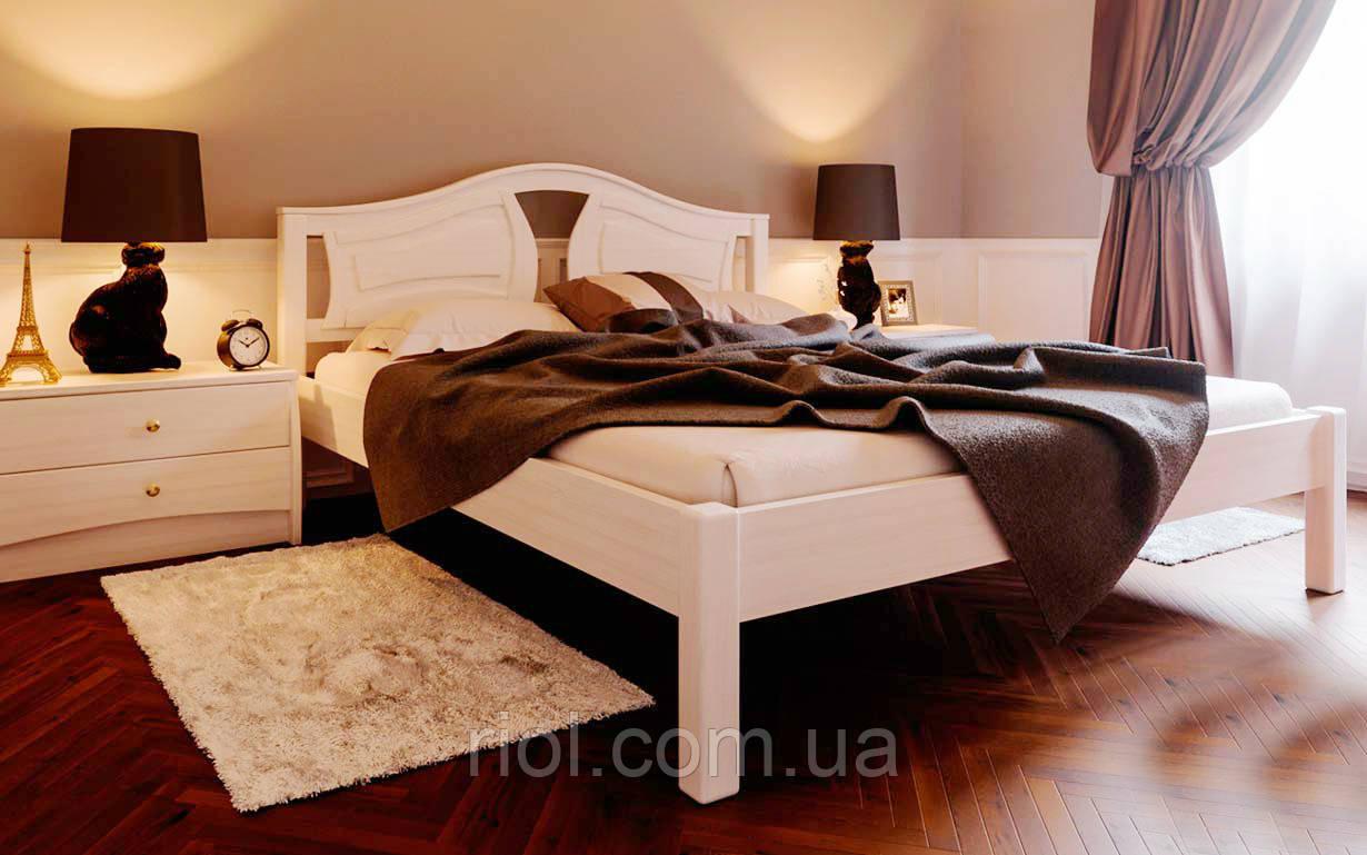 Кровать деревянная двуспальная Италия