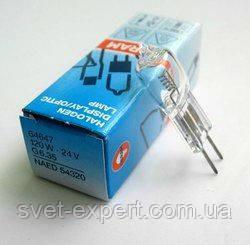 Лампа 64640 HLX 150W 24V G6,35 E FCS капс. 50 час. OSRAM