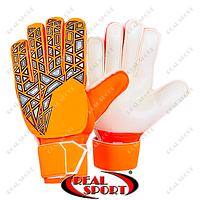 Вратарские перчатки с защитными вставками FB-888-3 (PVC, р-р 8-10)
