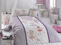 Комплект постельного белья First Choice Ranforce Deluxe 3D полуторный Fairy