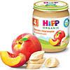 Пюре HiPP Бананы с персиками, 125 г