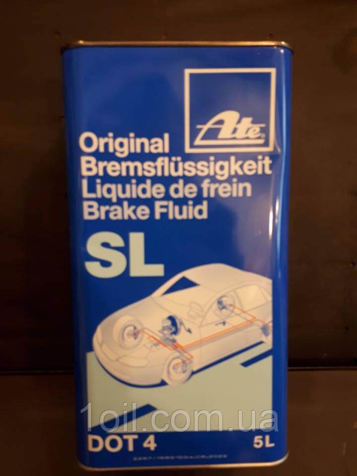 Тормозная жидкость DOT-4  ATE  5л