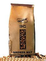 Воск в гранулах пленочный бронзовый BRONZE WAX Depileve, 500 гр.