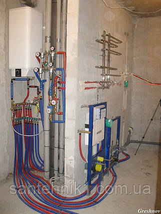 Установка бойлера воды, подключение бойлера воды, водонагревателя, Киев, ремонт сантехники, установк, фото 2