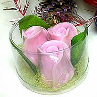 """Набор мыла ручной работы """"Букет роз"""", фото 1"""