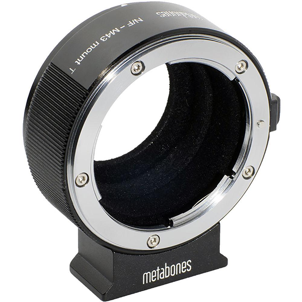 Metabones Nikon F Lens to Micro Four Thirds Camera T Adapter II (Black) (MB_NF-M43-BT2)