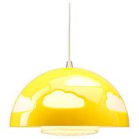 IKEA SKOJIG Подвесная лампа, желтый  (601.430.01)