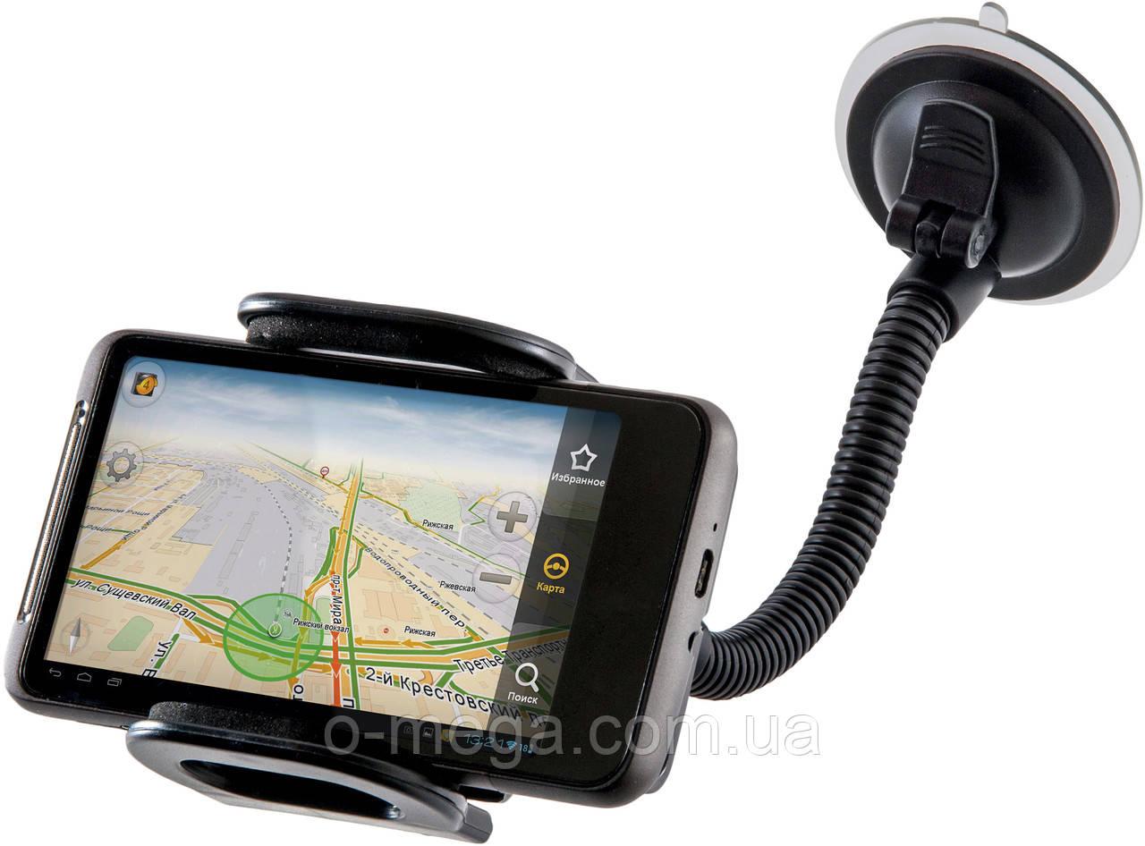 Автомобильное крепление для планшета, телефона, смартфона до 7 дюймов Defender 111