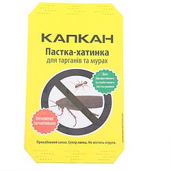 Клеевая ловушка-домик от тараканов Капкан 15х6 см