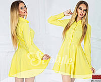 Стильное весеннее платье-рубашка