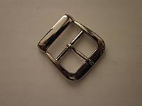 Пряжка для сумки 30 мм никель