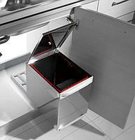 Висувний сміттєвий ящик з Н / Ж металу, Inoxa