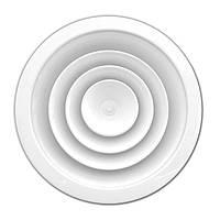 Диффузор алюминиевый круглый с демпфером NCD 150