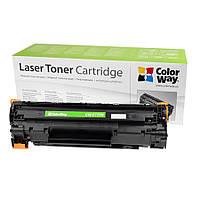 Картридж Canon 725, Black, LBP-6000/6020, MF3010, 1.6k, ColorWay (CW-C725M) + 3 банки тонера TH-1005 в подарок !!!