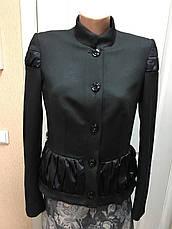 Женский пиджак черный , фото 2