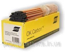 Омедненный графитовый электрод ESAB OK Carbon  д. 8-10 мм