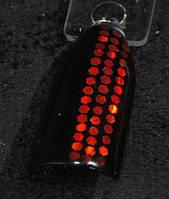 Глиттер шестигранник 1 мм, красный, фото 1