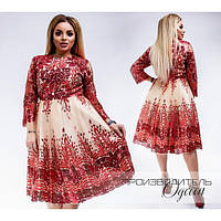 Шикарное платье Праздник размеры 48-52