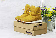 Жіночі зимові чоботи - дутіки 3765 Reebok рижі 6434bf210e72f