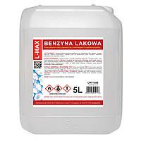 Бензиловый спирт уайт-спирит разбавитель растворитель для красок и лаков L-MAX 5Л