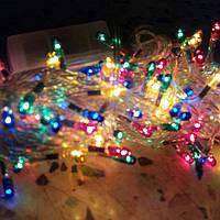 Гирлянда 200 ламп 8 режимов мульти