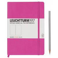 Блокнот Leuchtturm1917 Средний (A5) Розовый В клетку (14,5х21 см) (339577), фото 1