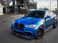 НАКЛАДКА ПЕРЕДНЕГО БАМПЕРА BMW X6M E71