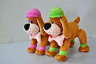 Мягкая игрушка. Собака плюшевый 22 на 22 см, фото 1