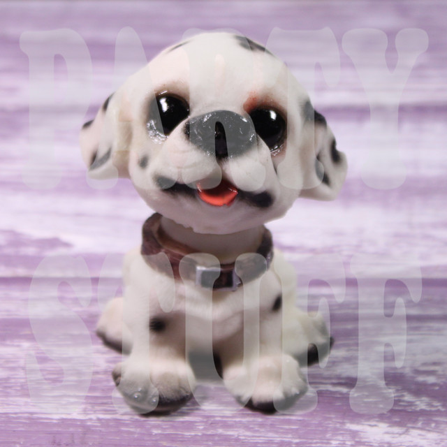 статуэтка щенок далматинец