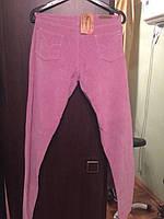 Женские вельветовые светлосиреневые джинсы Max 18 размер новые