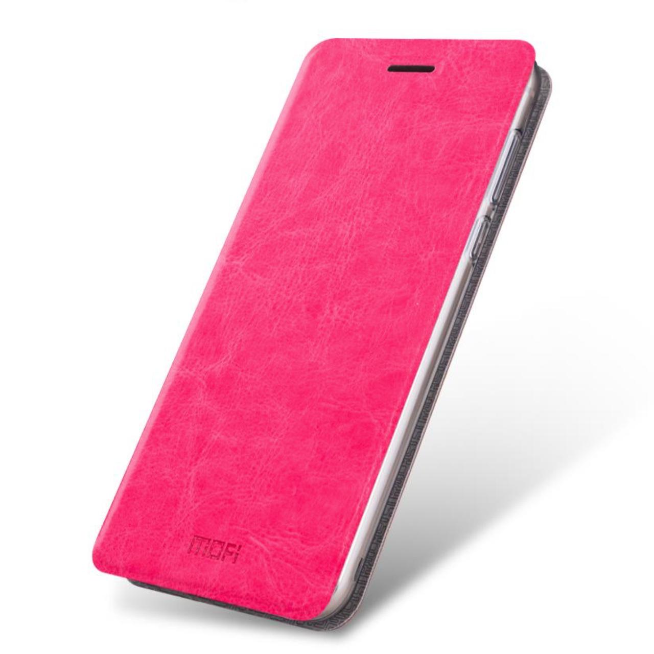 Чехол (книжка) Mofi на Meizu U10 Pink