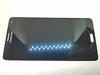 Дисплейный модуль б/у Samsung A700 Galaxy A7 с сенсором Black оригинал , GH97-16922B