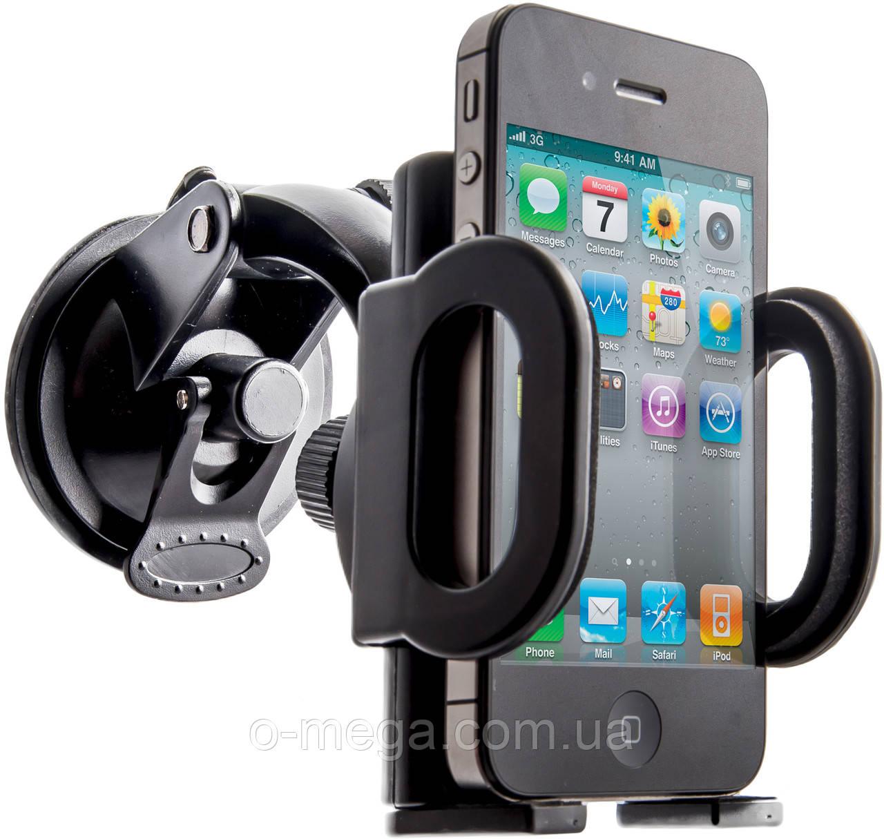 Автомобильное крепление для планшета, телефона, смартфона до 7 дюймов Defender 101+
