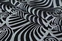 Слинг-шарф YAROSLINGS Yaro Dandy Black Natural Wool (40% шерсти мериноса) (4,6 м)
