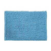 Коврик для ванной комнаты из полиэстра 60*40 синий AWD02161396