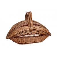 Набор плетеных  корзин для дров 3 шт