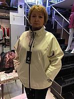 Женская Кожаная Куртка Удлиненная Большой Размер Черная 013МК