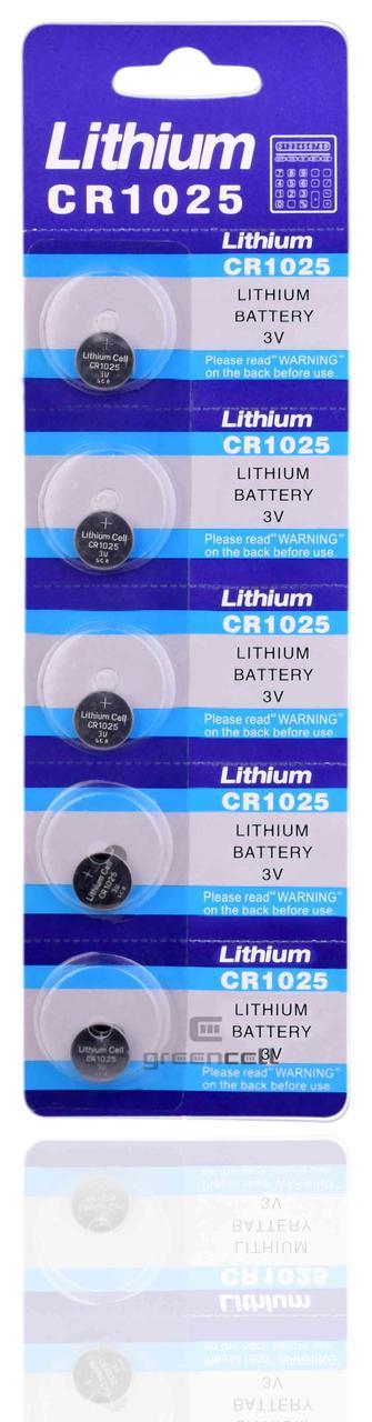 Батарейка литиевая Lithium CR 1025