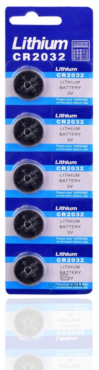 Батарейка литиевая Lithium CR 2032